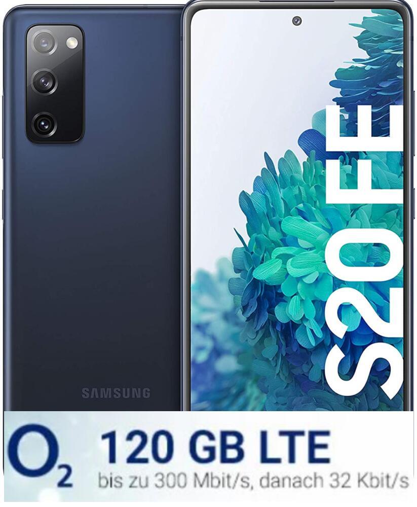 Samsung Galaxy S20 FE mit o2 Free L Boost 120GB (LTE Max) für Junge Leute für mtl. 29,99€