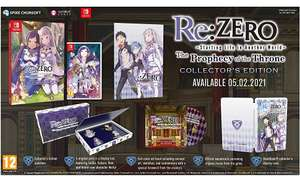 Re:ZERO: Starting Life in Another World - The Prophecy of the ThroneCollector's Edition (Switch) [Coolshop]
