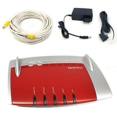 Refurbished AVM FRITZ!Box 7490 VDSL Modem ISDN 4-Port Gigabit WLAN 1300 Mesh Router