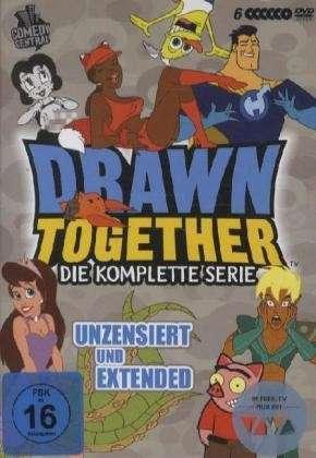Drawn Together - die komplette Serie (6 DVDs) für 23,99