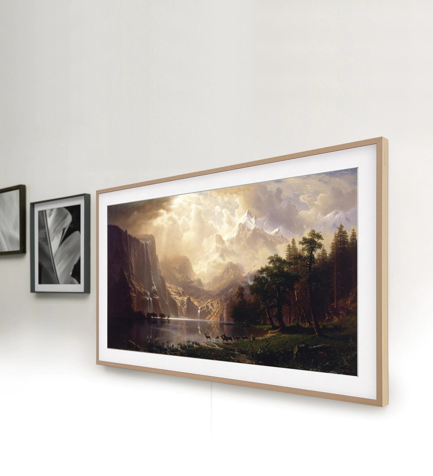 """Samsung the Frame 55"""" GQ55LS03T & Samsung Galaxy A51"""