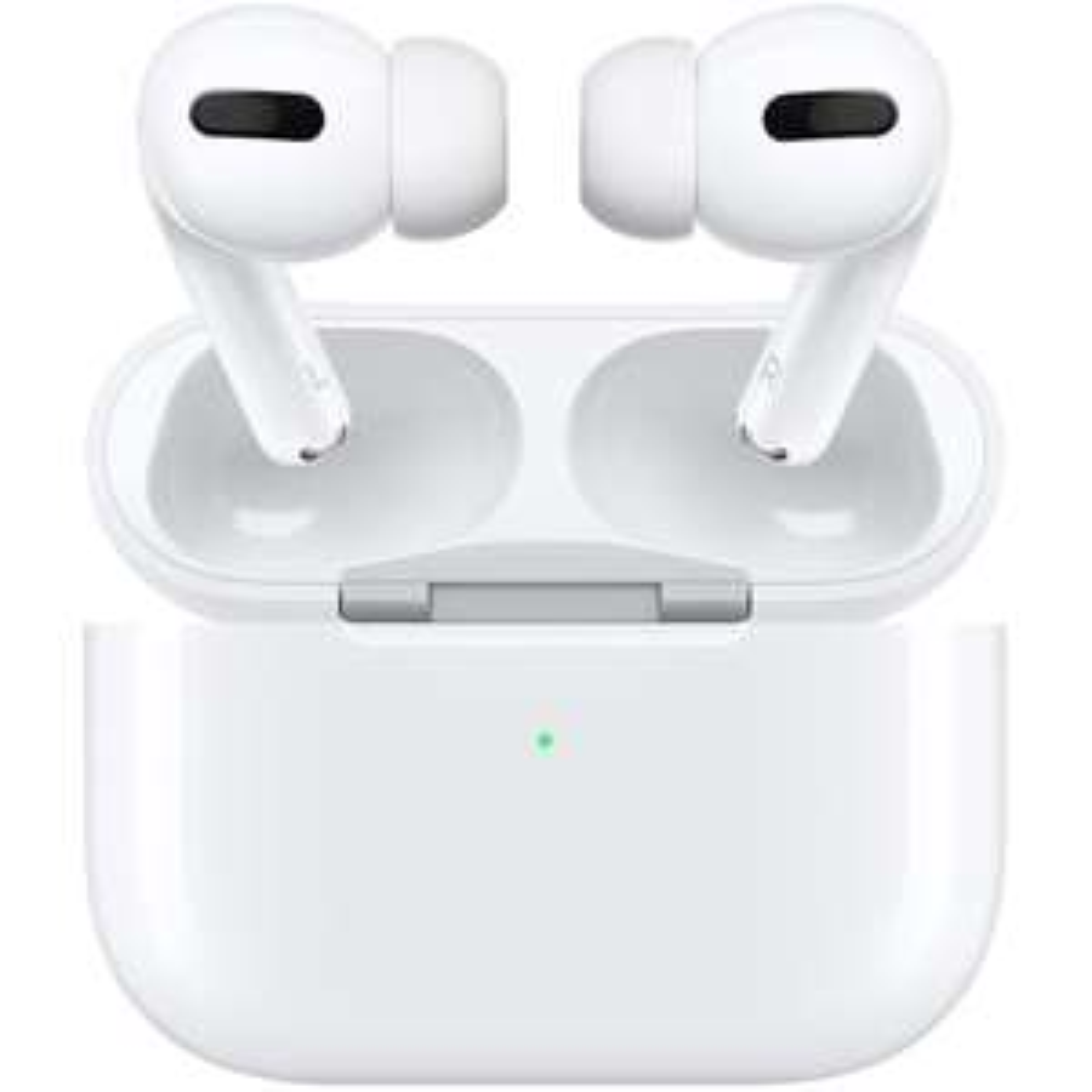 Apple AirPods Pro: Kabellose Kopfhörer mit Ladebox (Active Noise Cancelling, 4.5h Akku, 24h mit Ladebox, Wireless Charging, Lightning)