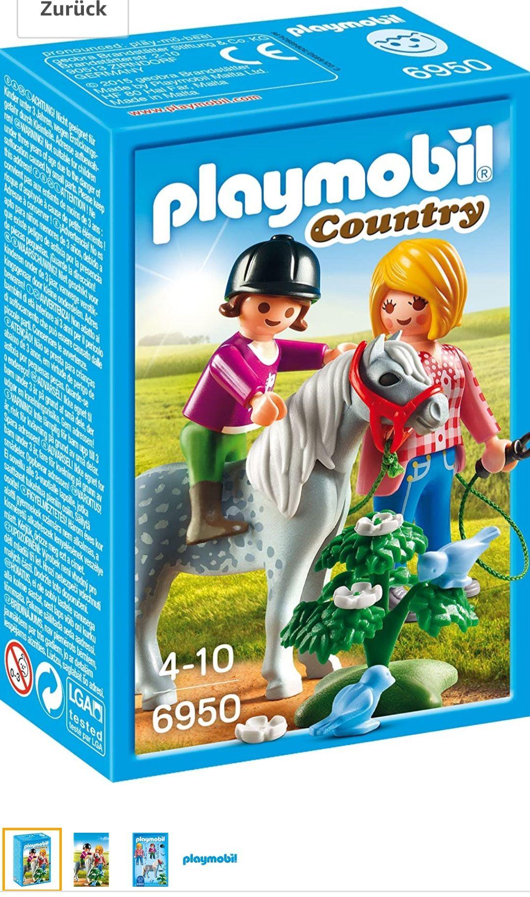 "[Amazon Prime] Playmobil Country ""Spaziergang mit Pony"""