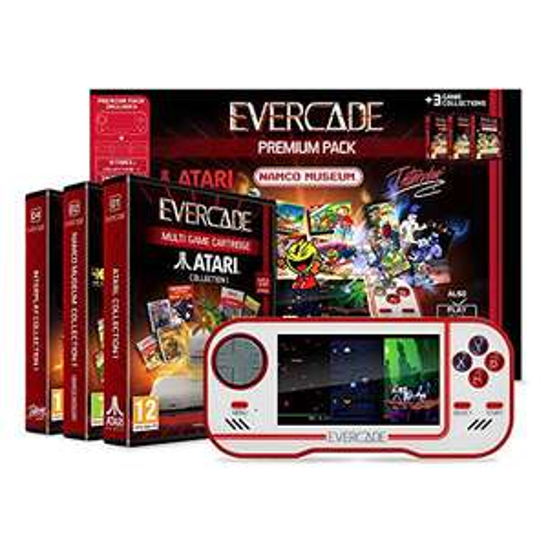 [Amazon] Blaze Evercade Premium Pack inkl. 3 Spielesammlungen (Atari, Namco & Interplay)