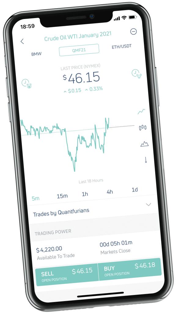 [KWK] Quantfury Gratis Aktie oder Crypto im Wert von bis zu 250 $ für Einzahlung/Deposit von 100$