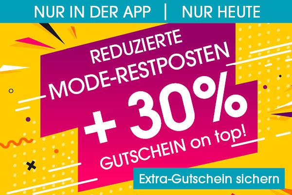 [Babymarkt] nur über die babymarkt.de App: 30% Rabatt auf den Mode Sale