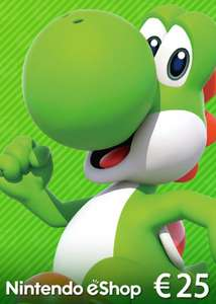 Nintendo eShop Card 25€ Guthaben