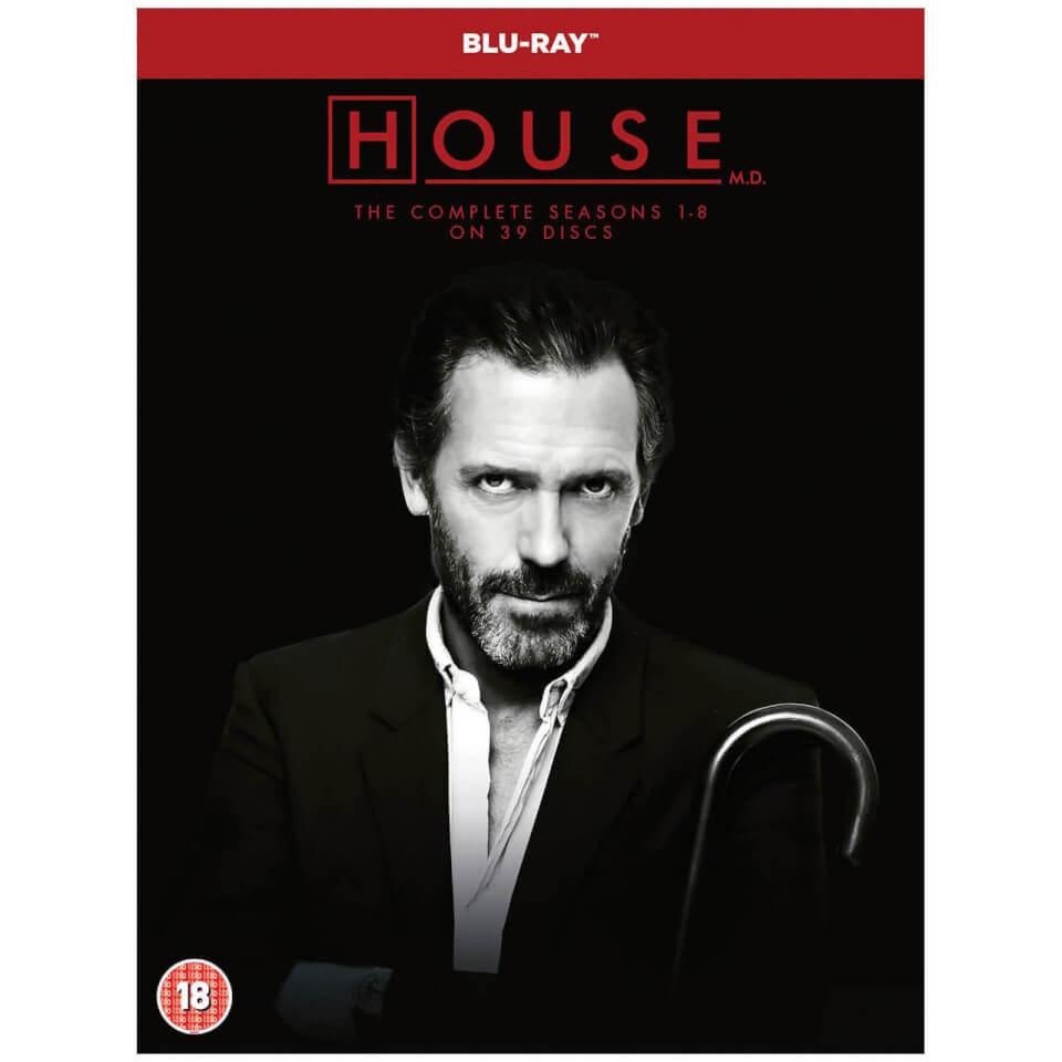 Es ist nie Lupus! Dr. House - Die komplette Serie (Blu-ray) für 59,74€ inkl. Versand (Zavvi.de)