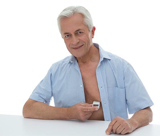 Beurer mobiles EKG-Gerät »ME 90« - 1-Kanal-EKG-Gerät zur Kontrolle und Aufzeichnung des Herzrhythmus