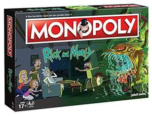 Rick & Morty Monopoly für 29,99€ (Amazon)