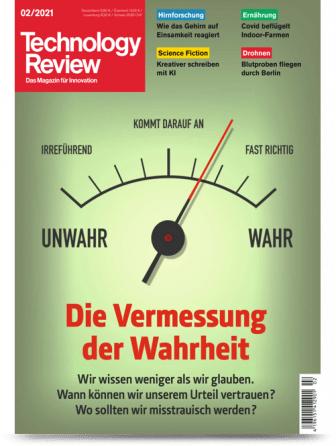 [Heise] TR Technology Review Abo (2 Ausgaben) + 10€ Amazon-Gutschein | Print für 14,30 € | Print + digital + Archiv Zugriff für 15,10 €