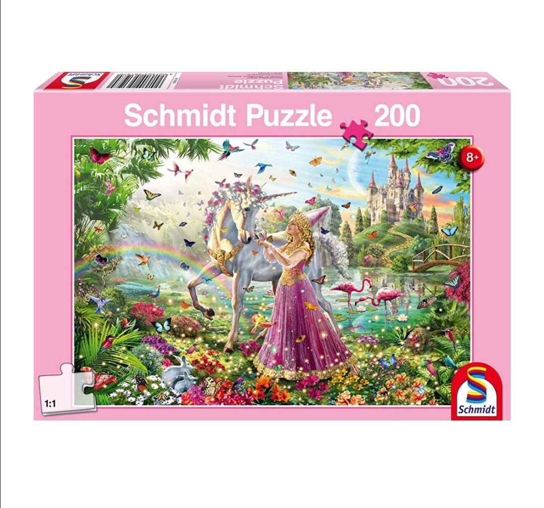 [Prime] Schmidt Puzzle 200 Teile Schöne Fee im Zauberwald