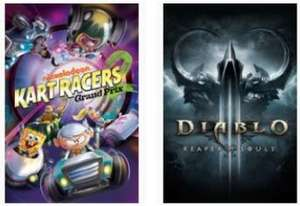 Xbox Free Play Days: Diablo III: Reaper of Souls Ultimate Evil Edition & Nickelodeon Kart Racers 2: Grand Prix (Xbox One) kostenlos spielen