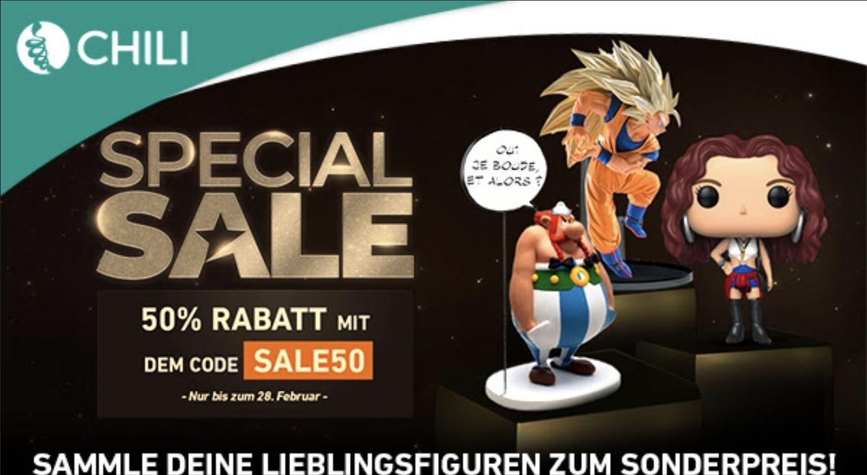 Special Sale auf diverse Figuren (50%)
