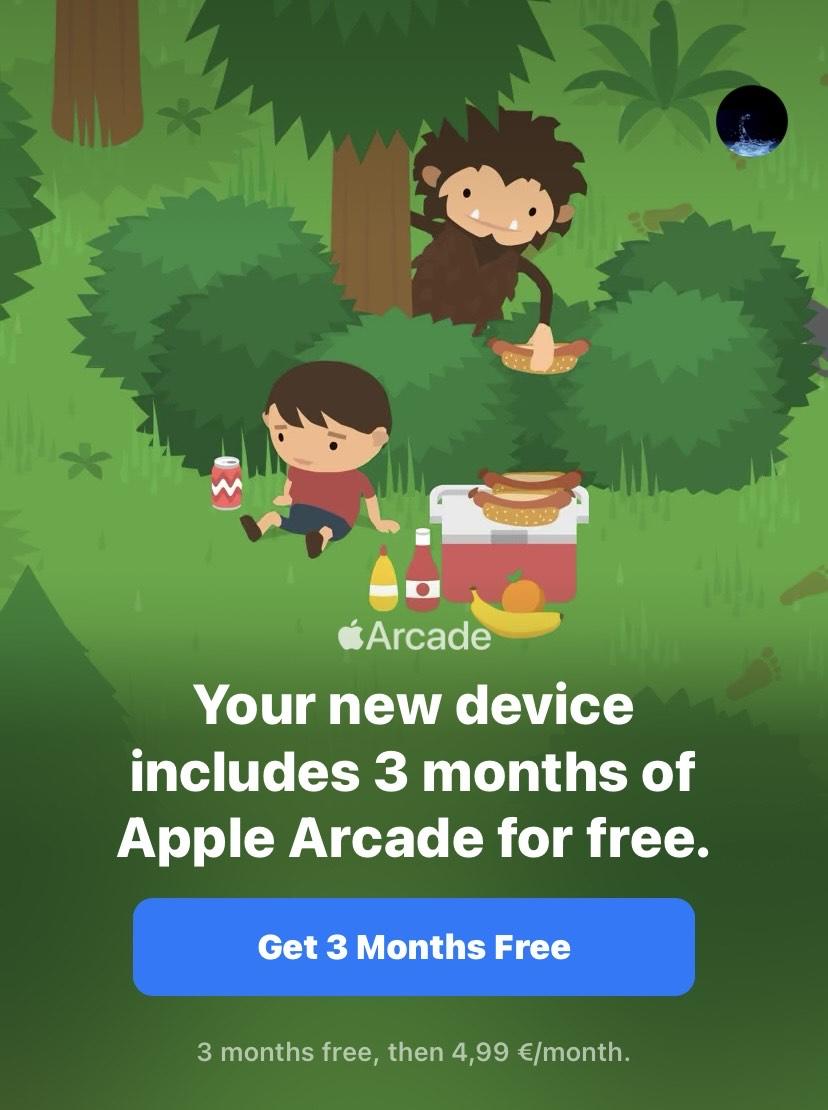Apple Arcade 3 Monate kostenlos - Nur für Neukunden