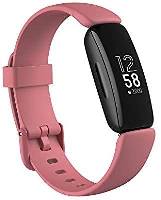 Fitbit Inspire 2 Gesundheits- & Fitness-Tracker mit einer 1-Jahres-Testversion Fitbit Premium, kontinuierlicher Herzfrequenzmessung