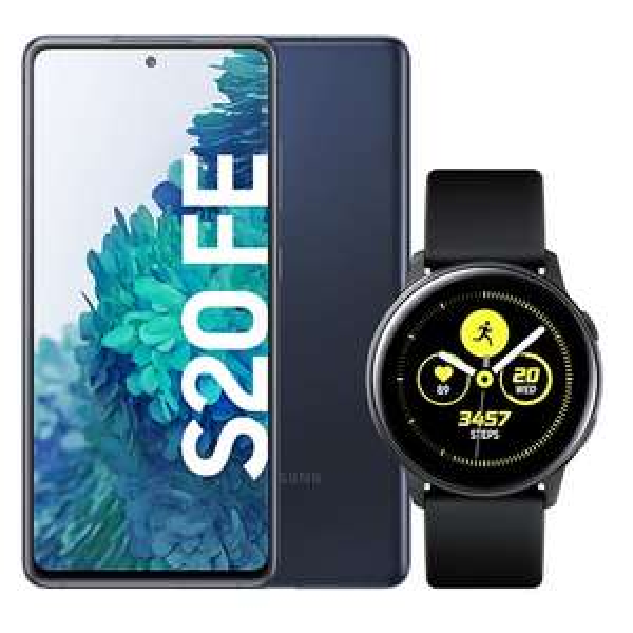 Samsung Galaxy S20 FE + Galaxy Watch Active mit o2 All-In M (12GB LTE) od. mobilcom-debitel Vodafone (10GB LTE) für 49€ ZZ & mtl. 19,99€