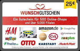 [Penny] Bis zu 400 extra Payback Punkte auf WunschGutscheine z.B. mit Amazon, MediaMarkt, Ikea & Co. (bis zu 8% Rabatt)