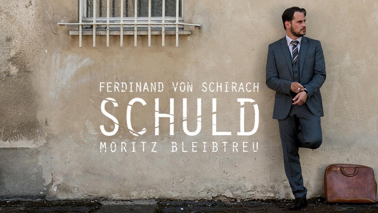 """[ZDF Mediathek] Staffel 1 - 3 von """"Schuld"""" nach Ferdinand von Schirach mit Moritz Bleibtreu kostenlos streamen"""