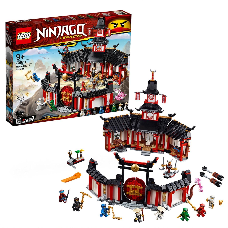 LEGO 70670 Ninjago Kloster des Spinjitzu