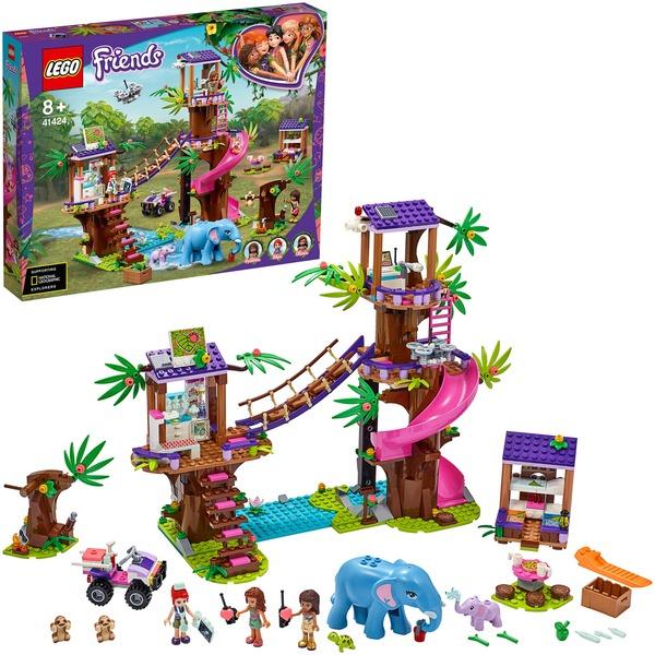 LEGO 41424 Friends Tierrettungsstation im Dschungel