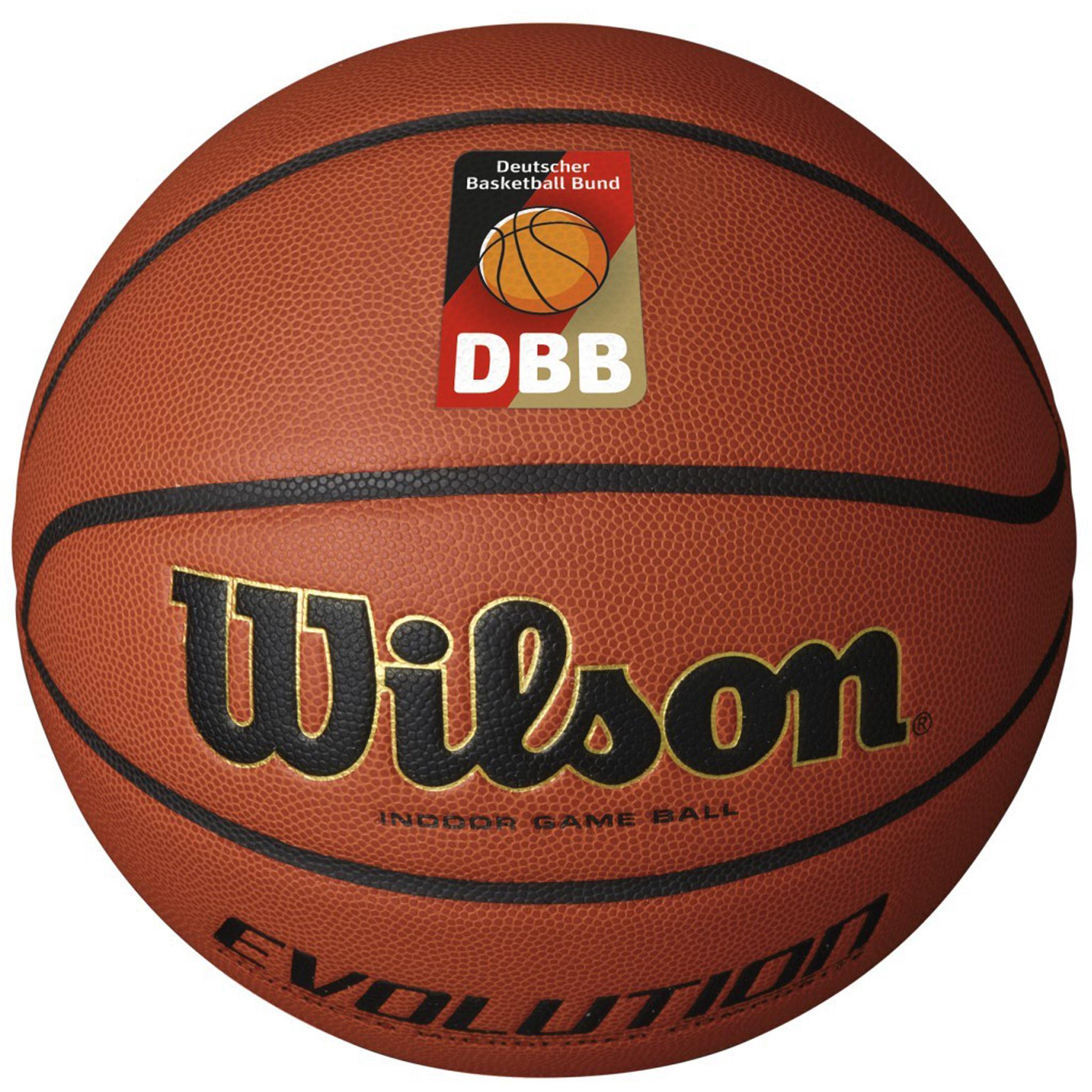 [Ballside] Wilson Evolution Gr. 7 DBB Basketball 29,57€