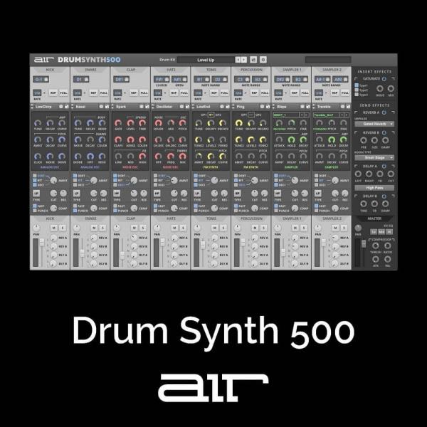 [VST] Drum Synth 500 (+ I Heart NY)