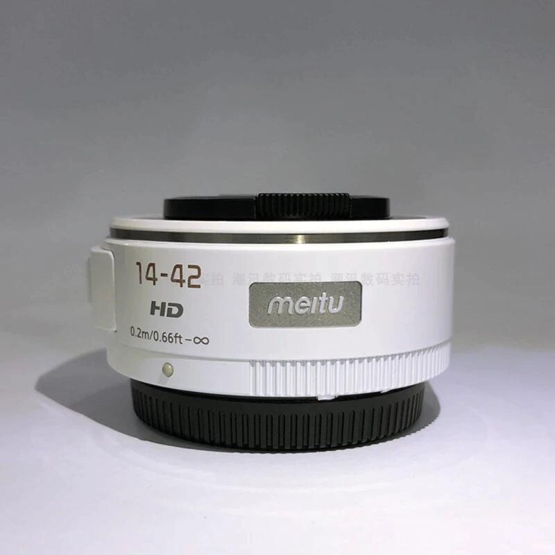 Micro 4/3 Objektiv: Meitu 14-42 F3.5-5.6 ASPH Baugleich zum Panasonic Lumix G X Vario PZ 14-42mm Pancake