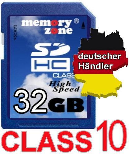 32 GB SD Memoryzone Class 10 - Ebay