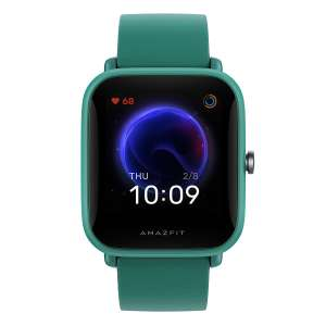 "Huami Amazfit Bip U Green [3,63cm (1,43"") TFT Display, Bluetooth 5.0, 5 ATM] [NBB]"