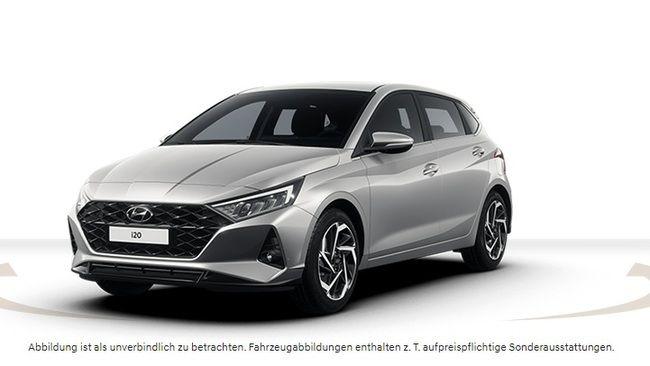 (Privatleasing | Gewerbeleasing) Hyundai i20 select 1.0 T-GDI iMT Mild Hybrid (neues Modell) - 48 Monate, 10tkm für eff 124,96€ mtl. LF 0,59