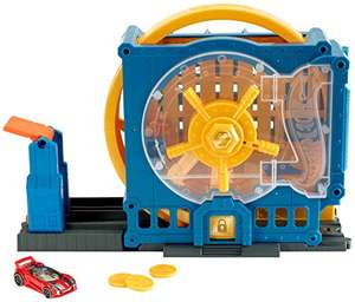 Hot Wheels - Super-Bankeinbruch Spielset (Prime)