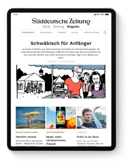 [Süddeutsche Zeitung] Jetzt die digitale SZ Plus 7 Wochen kostenlos testen