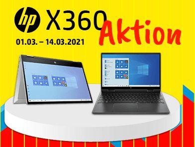 "HP x360 Aktion: diverse Convertibles & Laptops (z.B. Pavilion x360 14"", Pavilion 13"", Envy x360 15"", Envy 13"", Spectre x360 13"" & 15"")"