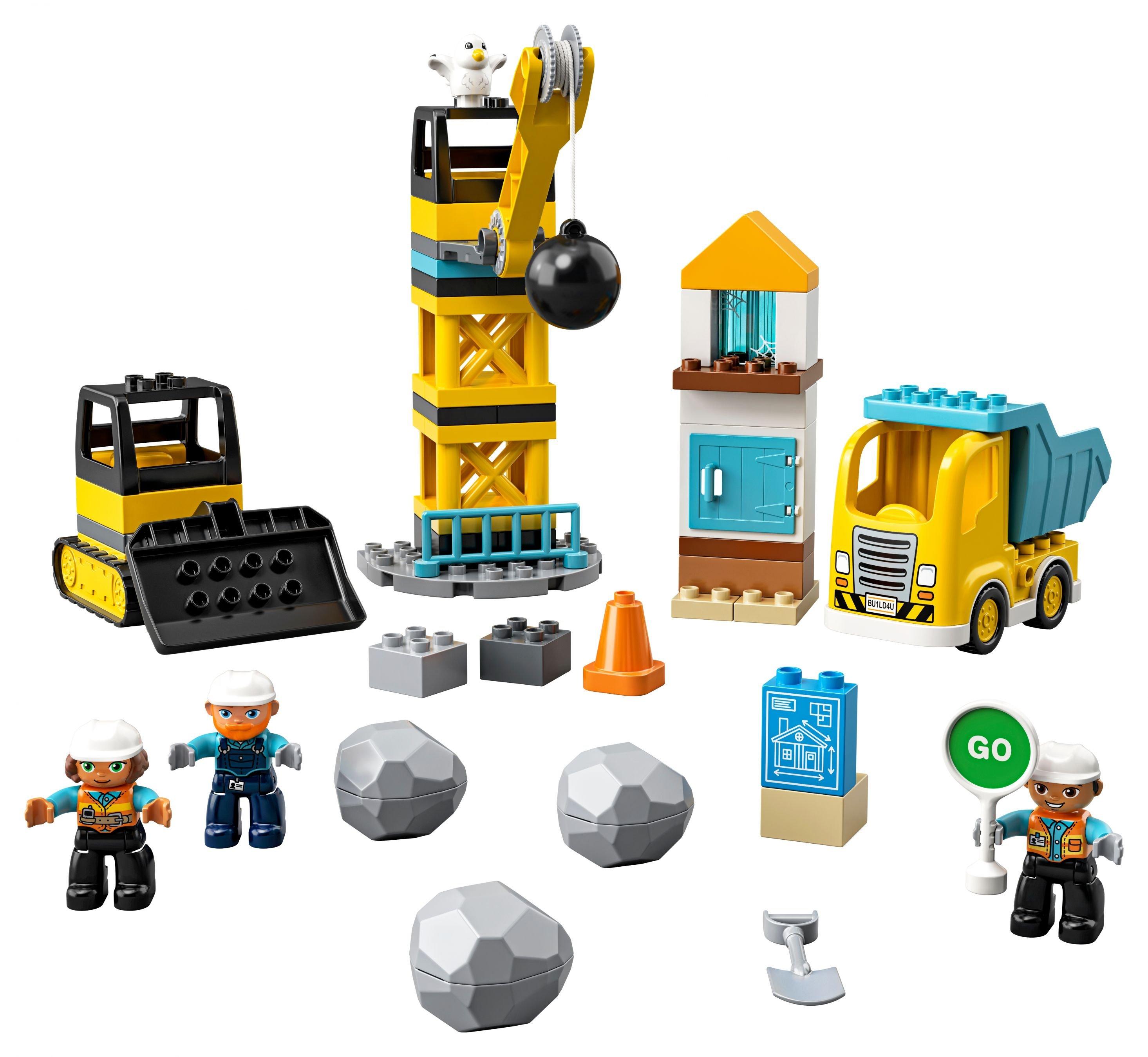 (Alternate) Lego Duplo 10932 Baustelle mit Abrissbirne (UVP - 38%)