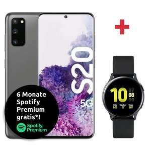 [Young MagentaEINS] inkl 120€ Cashback Samsung Galaxy S20 5G und Watch Active 2 im Magenta Mobil S (12GB 5G) mtl. 29,95€ | Ankauf -1,38€ mtl
