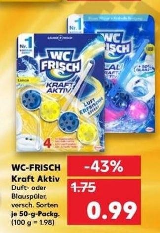 [Kaufland] Ab 04.03. WC Frisch 0,99€, 10 Stück 4,90€