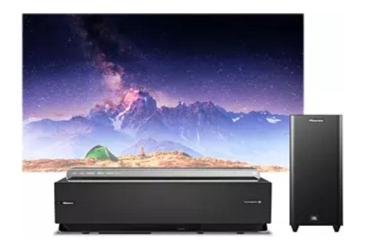 Hisense Laser TV Beamer H100LDA