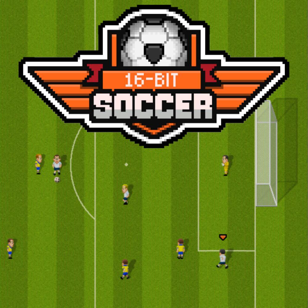 16-Bit Soccer für Nintendo Switch eShop [RU: 0,84€ / DE: 0,99€]