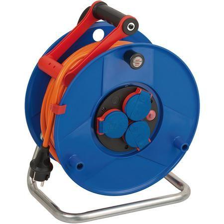 Brennenstuhl Garant IP44 40m Kabeltrommel (AT-N07V3V3-F 3G1,5 / Kabelführung / bis -35°C, Öl-/UV-Schutz, Überlast-Schutz) / 50m 54€