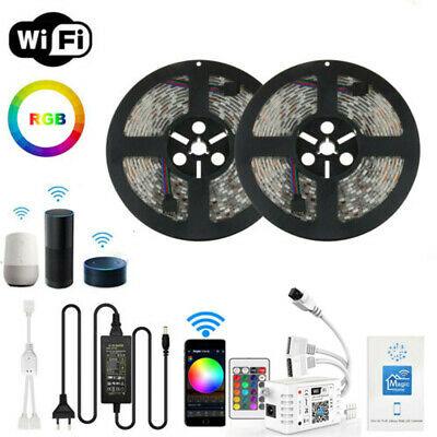 25m (60LEDs/m) LED RGB Stripe, Alexa und Google Home kompatibel+ Netzteil und Controller.