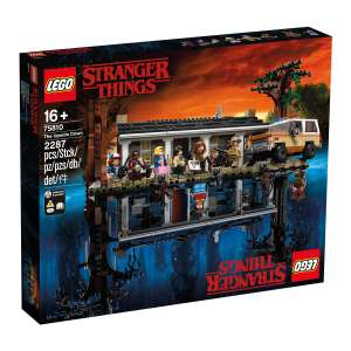 LEGO 75810 Stranger Things The Upside Down - El Corte Inglés