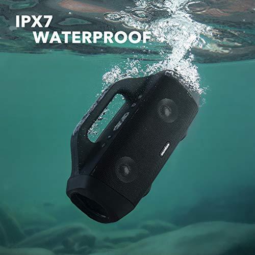 Anker Soundcore Motion Boom Bluetooth Lautsprecher mit Titan Audiotreibern, BassUp Technologie, IPX7 Wasserschutz, 24h Akku (Prime)