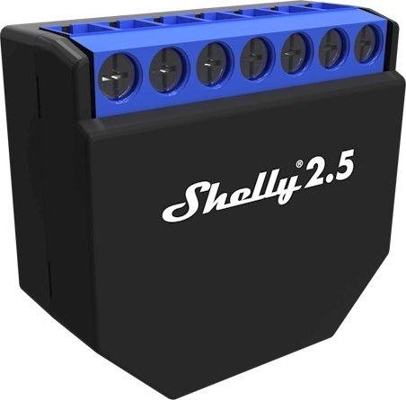 3er Pack Shelly 2.5 WLAN-Funkschalter mit Strommesssensor