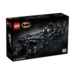 Lego 76139 Super Heroes DC 1989 Batmobile