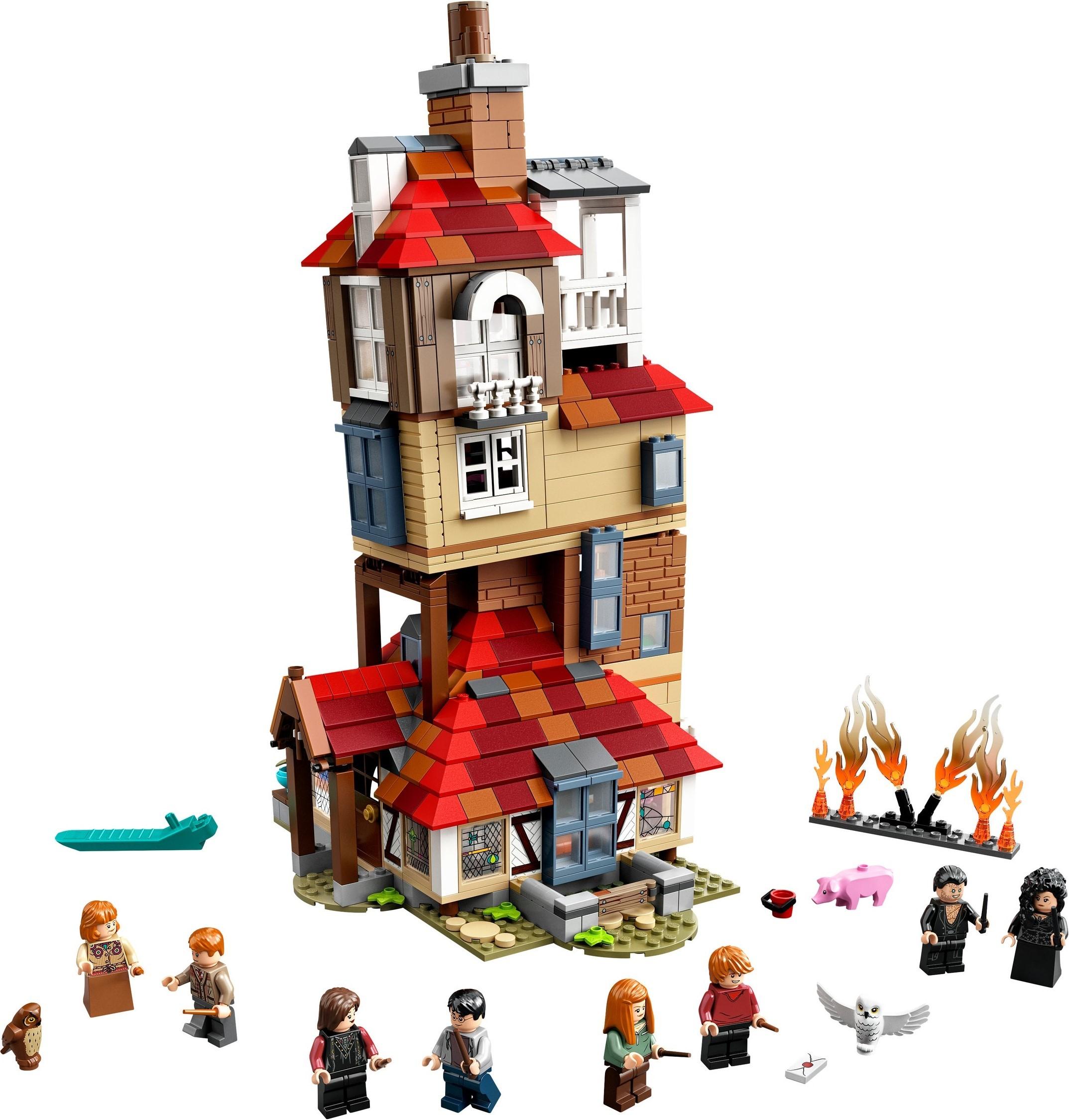 (El Corte Inglés) Lego Harry Potter 75980 Angriff auf den Fuchsbau zum Bestpreis (UVP - 16%)