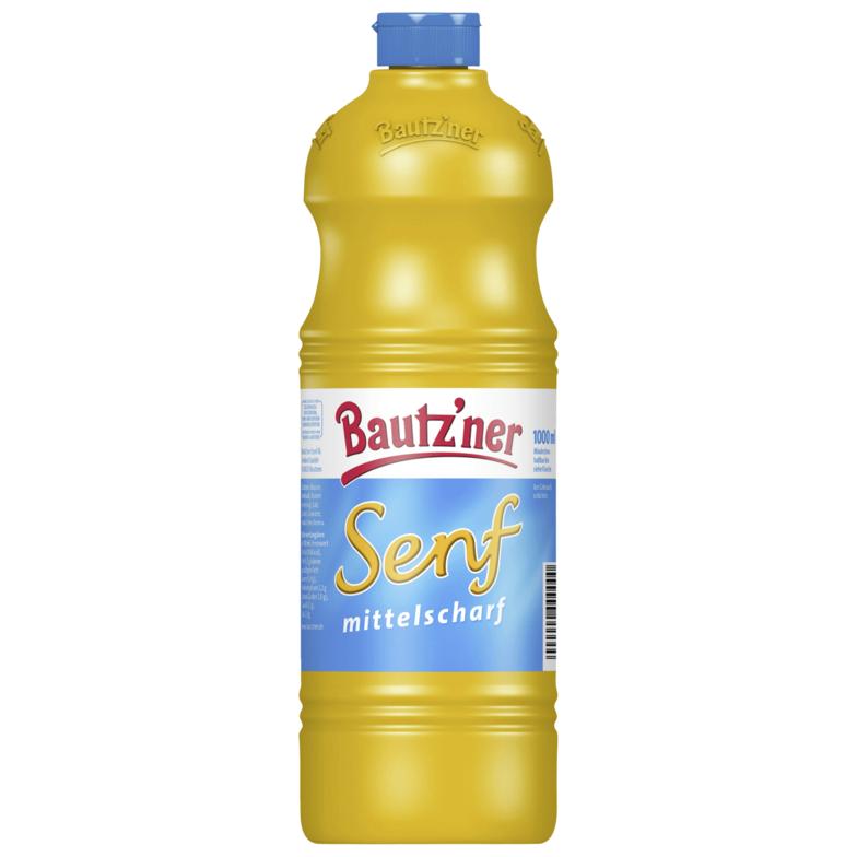Rewe (nur Ostdeutschland?): Literflasche Bautz'ner Senf 0,99 €