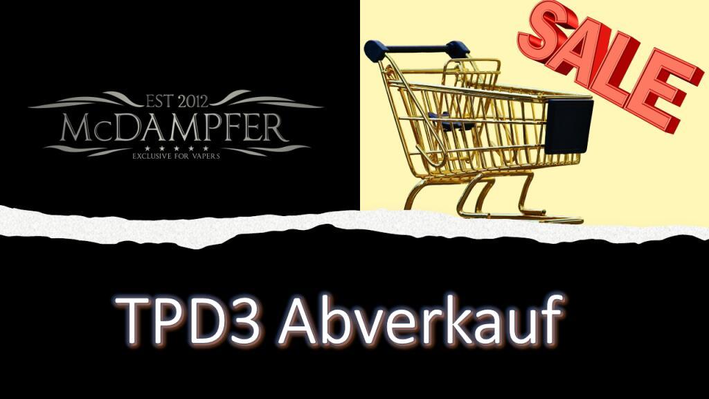 Vapescout im TPD3 Abverkauf mit über 70%