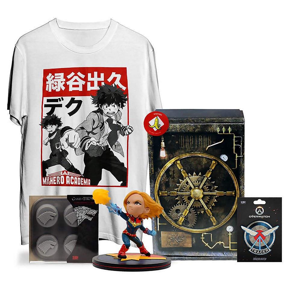 Mystery Box mit T-Shirt, Figuren und anderen Geek Stuff für 16,78€ inkl. Versand (Zavvi.de)