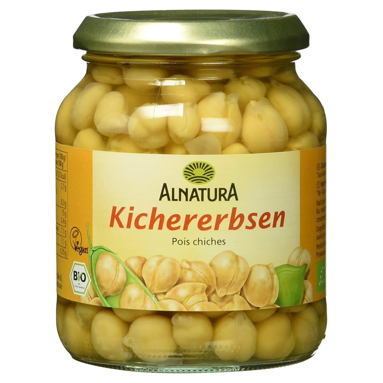[Amazon] Alnatura Bio Kichererbsen, vegan, 12er Pack (12 x 350 g) für nur 7,14€